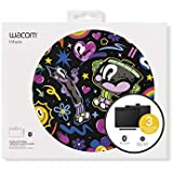 """Wacom Intuos Wireless Graphic Tablet with 3 Bonus Software Included, 7.9"""" x 6.3"""", Black (CTL4100WLK0)"""