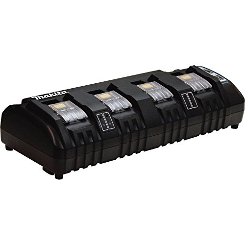 Makita DC18SF 18V Lithium-Ion Rapid Optimum 4-Port Charger by Makita