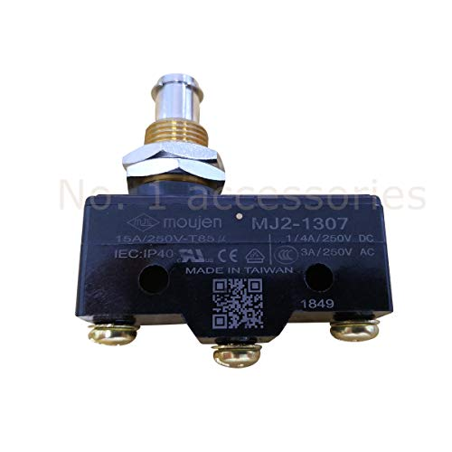 No. 1 accessories Golf Cart Brake Pedal Micro Switch 3-Terminal Plunger-Style for Club Car & EZGO