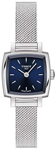 Tissot Lovely Square Quartz Blue Dial Ladies Watch T058.109.11.041.00