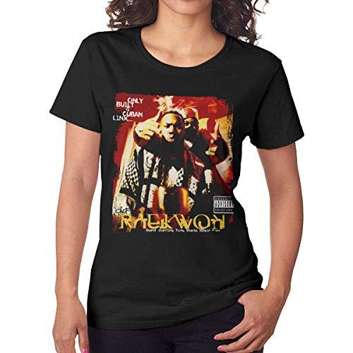 Tticus Cromwell Women's Raekwon Only Built 4 Cuban Linx Tees Black M