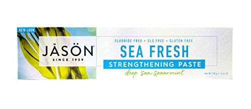 Jason Sea Fresh Toothpaste, Deep Sea Spearmint, 6 Ounce (Pack of - Sourced Toothpaste Natural Sea
