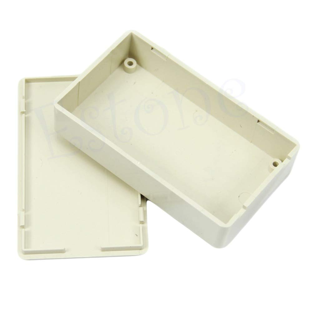 SAUJNN Plastic Enclosure Case DIY Electronics Project Box 3.34L x 1.96W x 0.83H