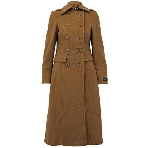 Damen Baumwolle Kaschmir Mantel Damenjacke Oberbekleidung Grabenzieher Winter Gefüttert