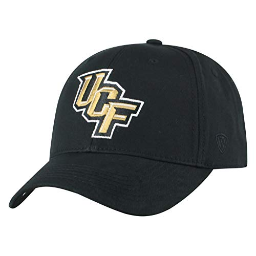 - NCAA Central Florida Golden Knights Men's Fitted Relaxed Fit Team Icon Hat, Black
