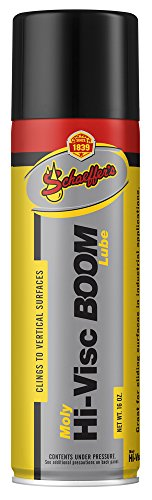 Schaeffer Manufacturing Co. 0319-011S Moly Hi-Visc Boom Lube Spray, 16 oz. Aerosol (Telescopic Spray)