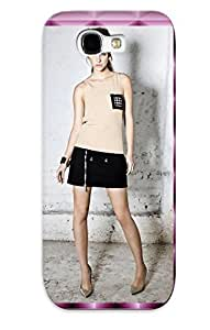 lintao diy Defender Case For Galaxy Note 2, Barbara Palvin Pattern, Nice Case For Lover's Gift
