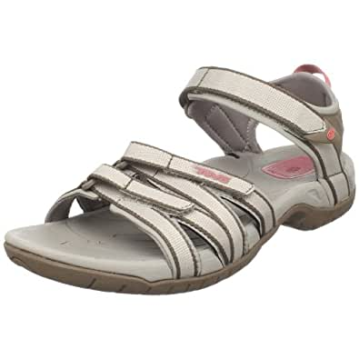 Teva Women's Tirra Athletic Sandal (5 B(M) US / 36 EUR, Simply Taupe)