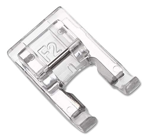 (DREAMSTITCH 200137003 7mm Snap On Open Toe Satin Stitch Presser Foot for for Singer Janome,Necchi,Pfaff,Husqvarna Vking Sewing Machine - 200137003)