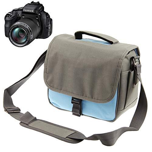 Diffomatealliance Bag,case&Straps GuoBomate勝利バッグ、ケース&ストラップストラップ付きのスタイリッシュなキャンバスデジタルカメラバッグ、サイズ:24 cm x 20.5 cm x 14 cm   B07RPHC7ZF