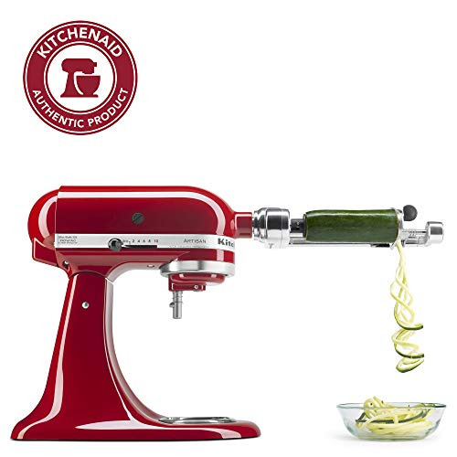 "KitchenAid KSM1APC Spiralizer Attachment, 1"", Silver"