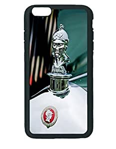 1929 Minerva Hood Ornament ~ iPhone 5c Black Rubber Tpu Case ~ Silicone Patterned Protective Skin Rubber Case Cover for Apple iPhone 5c with - Haxlly Designs Case