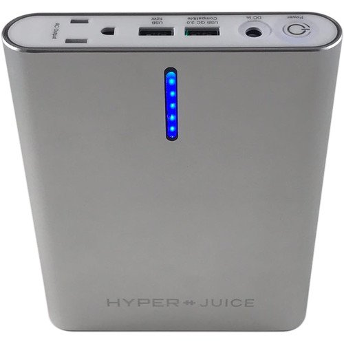 HyperJuice AC External Backup Battery Pack (100Wh / 26,000mAh) with QC 3.0 Compatible USB by Hyper (Image #3)