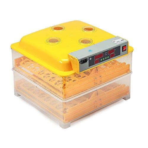 96 Eier Brutapparat Geflügel Brutkasten Brutautomat Inkubator Brutmaschine NEU
