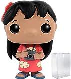 Disney: Lilo & Stitch - Lilo Funko Pop! Vinyl Figure (Includes Compatible Pop Box Protector Case)