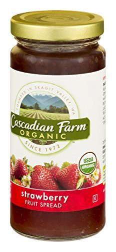 (Cascadian Farm, Organic Spread Strawberry, 10 oz)