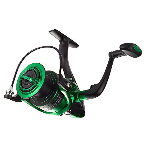 Dr.Fish Spinning Reel 6000 for Pike Catfish Big Bass Ultra Smooth Big Spool Long Casting 6000