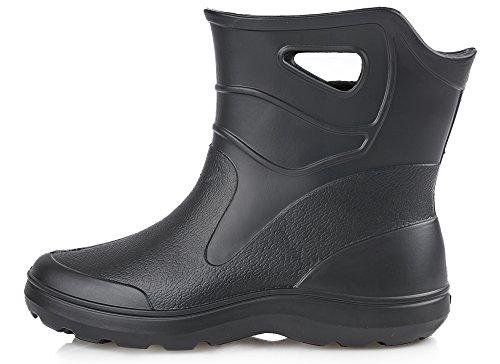 Stivali di KL027M Gomma Uomo Eva Ladeheid per Nero F5TqAOOxw