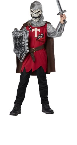 Costume Faire Ren Shoes (California Costumes Skull Knight Child Costume,)