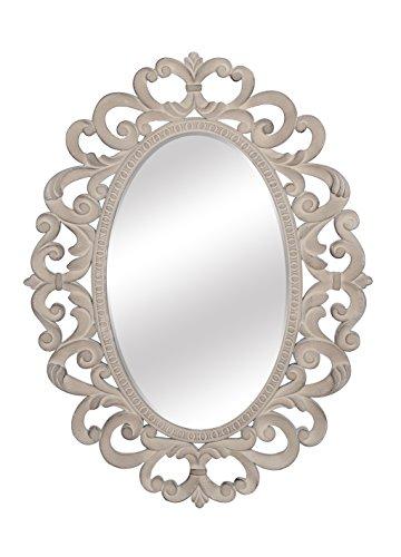 SBC Decor Franchesca Oval Wall Mirror, 30