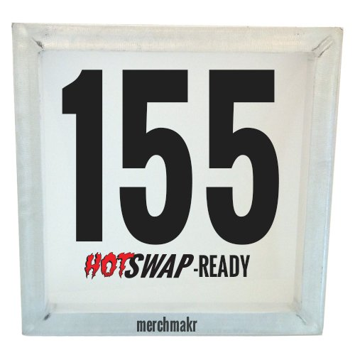 Merchmakr HotSwap Ready Screen Printing Screen 155 Mesh 17''x17'' by Merchmakr
