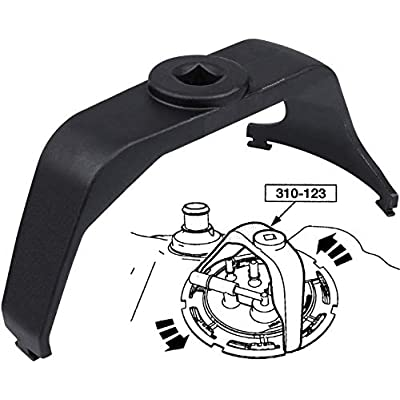 Yoursme 6599 Fuel Tank Lock Ring Wrench Tool for Easy Removal and Installation: Automotive
