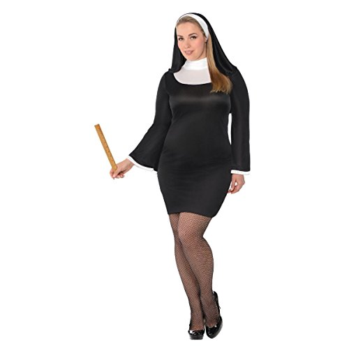 Adult Blessed Babe Nun Costumen - Plus XXL (18-20)]()