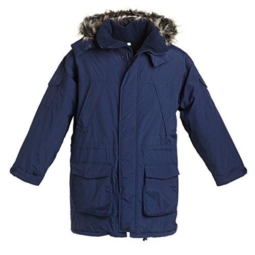 Bms Marino Azul Para Mujer Impermeable Abrigo fw8Bqrf
