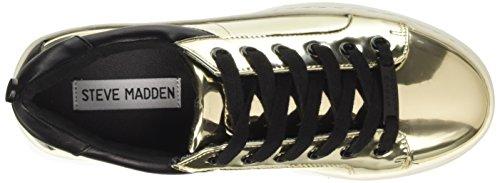 Steve Madden Bertie-m, Tenis a La Moda Para Mujer Oro (Gold Mirror)