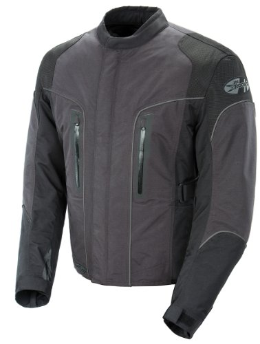 Joe Rocket Alter Ego 3.0  Men's All-Weather Riding Jacket (GunMetal, ()