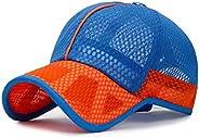 XibeiTrade Summer Small Kids Breathable Quick Dry Mesh Baseball Cap Boy Gir Sun Hat