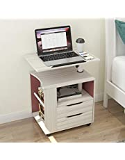sogesfurniture Bedroom Table with Shelf Cabinet Bedroom Furniture Nightstand Table BHCA-CT1