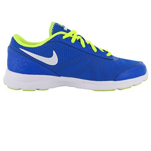 NIKE Core Motion en maille Formation Chaussures pour Femme Bleu/blanc/V Baskets Sneakers