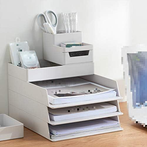 Desktop Office Briefpapier-Stiftordner (Empfangsbox) [3er-Set für Desktop-Aufbewahrungsbox] Nordic-Grün