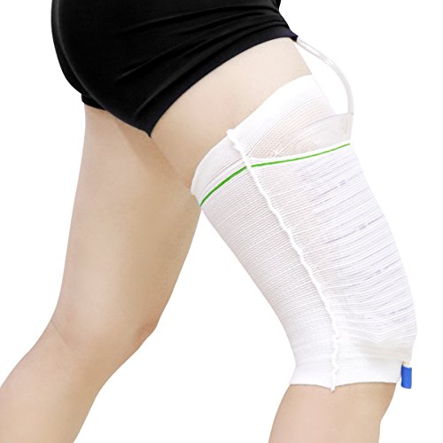 Urine Leg Sleeves Urinary Drainage Catheters Bags Holders for Incontinence Supplies Strong Care Support & Fixed Provided (Pack of 1, XL) Drainage Catheter