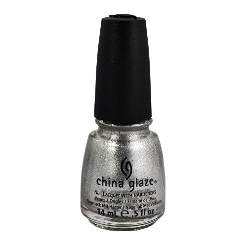 Metallic Icicles Silver - China Glaze Nail Polish, Icicle