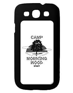TooLoud Camp Morning Wood Staff - B&W Galaxy S3 Case