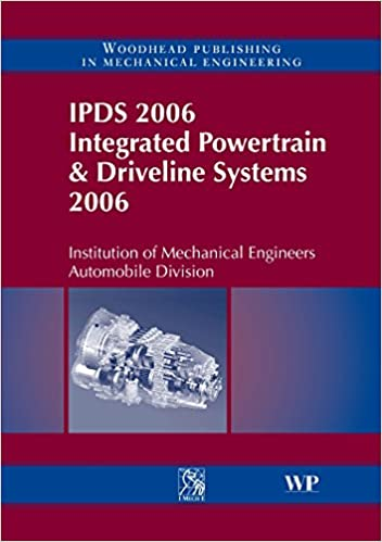 Book IPDS 2006 Integrated Powertrain and Driveline Systems 2006