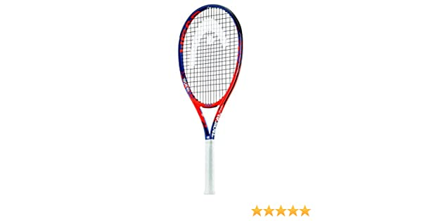 Best Racket for Power and Comfort Head Graphene Touch Radical PWR Extended//Oversized 16x19 Tennis Racquet Strung with Complimentary Custom String Colors