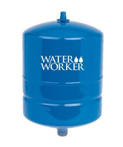 - WaterWorker HT-4B Water Worker Vertical Pre-Charged Well Tank, 4 Gal, 3/4 in Mnpt, 100 Psi, Steel, 4-Gallon, Blue