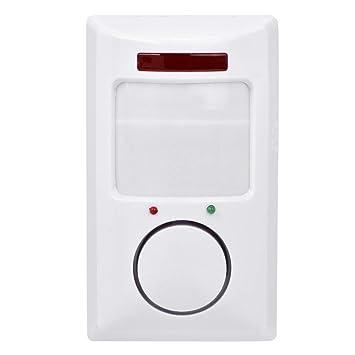 Sistema de Alarma inalámbrica de 105 dB, Detector de Movimiento por Infrarrojos, Home Security Wall Detector: Amazon.es: Bricolaje y herramientas