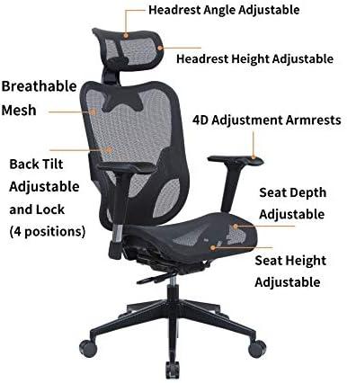 Mesh3 Hyper GTR Ergonomic Office Chair Premium Mesh Seat