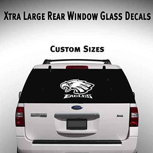 Philadelphia Eagles Car Suv Truck Window Decal Graphic Sticker NFL Fan Super Bowl Football ()