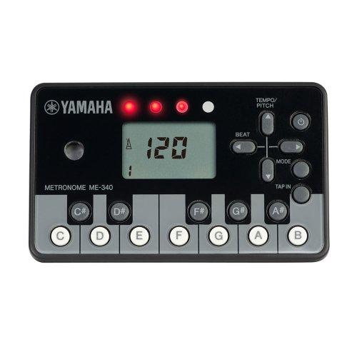 야마하 YAMAHA 디지탈 메트로놈 피아노 블랙 ME-340PF