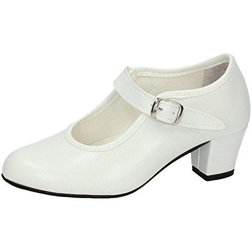 CREACIONES Carleti S L Zapato Talla Blanco Flamenca 15 BAILE DE 39 PASOS Cwr4xZCg