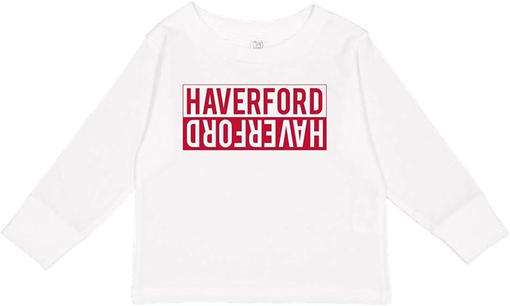 NCAA Haverford Squirrels 72AHVR Toddler Long-Sleeve T-Shirt