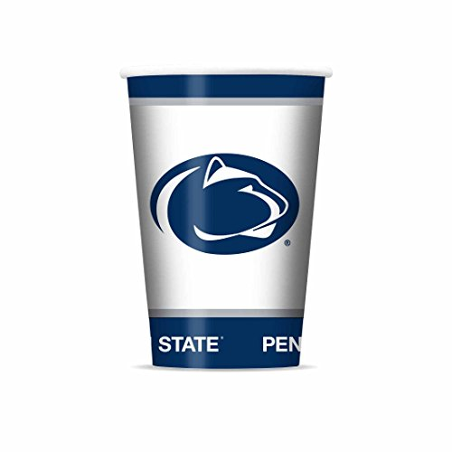 NCAA Penn State Nittany Lions Disposable Paper Cups, Pack of 20