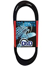 "D&D PowerDrive 419744 Craftsman Replacement Belt, A/4L, 1 -Band, 34"" Length, Rubber"