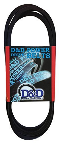 Rubber 47 Length D/&D PowerDrive 13C1195 Metric Standard Replacement Belt A//4L Belt Cross Section