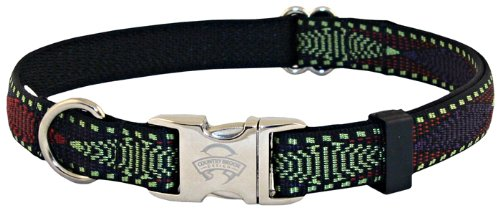 Country Brook Design Neo Navajo Premium Dog Collar - Large (Navajo Adjustable Ring)